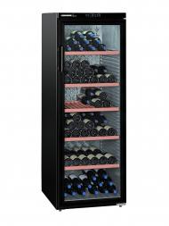 Liebherr-Vinothek Wkb 4212 200bots Free Standing, Glass Door, Black, Single Temp