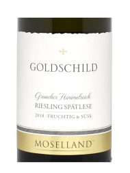 Moselland Goldschild Graacher Himmelreich Riesling Spatlese 2018