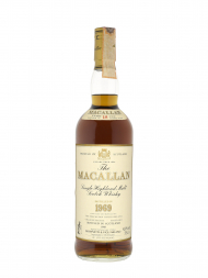 Macallan 1969 18 Year Old Sherry Oak (Bottled 1988) no box 700ml