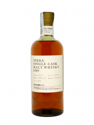 Nikka Miyagikyo Single Cask Malt Whisky (bottled 2010) 1989 700ml no box