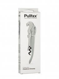 Pulltex Corkscrew Click Cut Chrome 109120