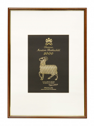 Picture Mouton 2000 with Frame