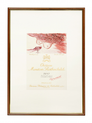 Picture Mouton 2017 with Frame
