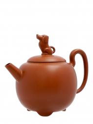 Tai Hwa Teapot Dog Coffee Color