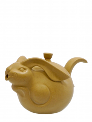 Tai Hwa Teapot Rabbit Stone Color