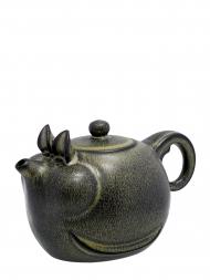 Tai Hwa Teapot Zodiac Pig Ink Color New