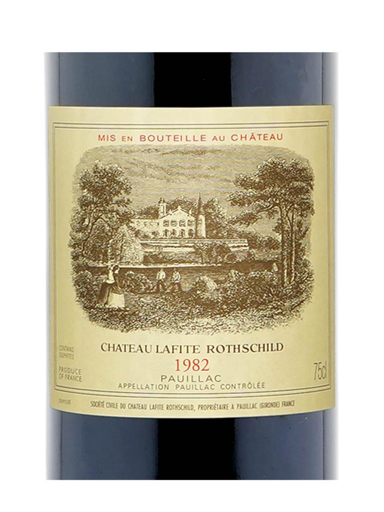 Ch.Lafite Rothschild 1982 ex-ch 2021